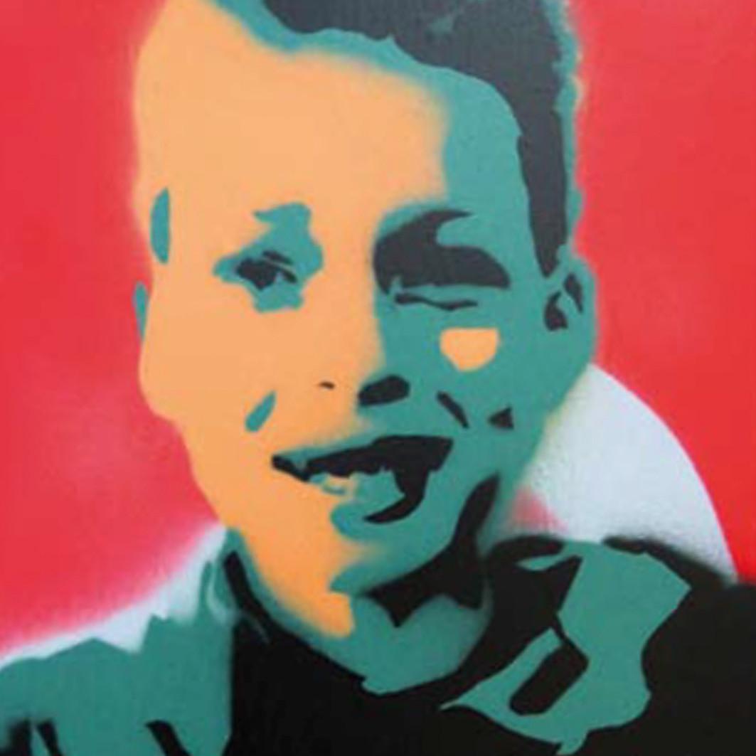 Stencil – Selbstportraits sprayen