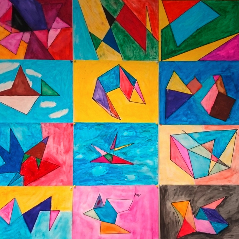 Konstruieren mit Form und Farbe